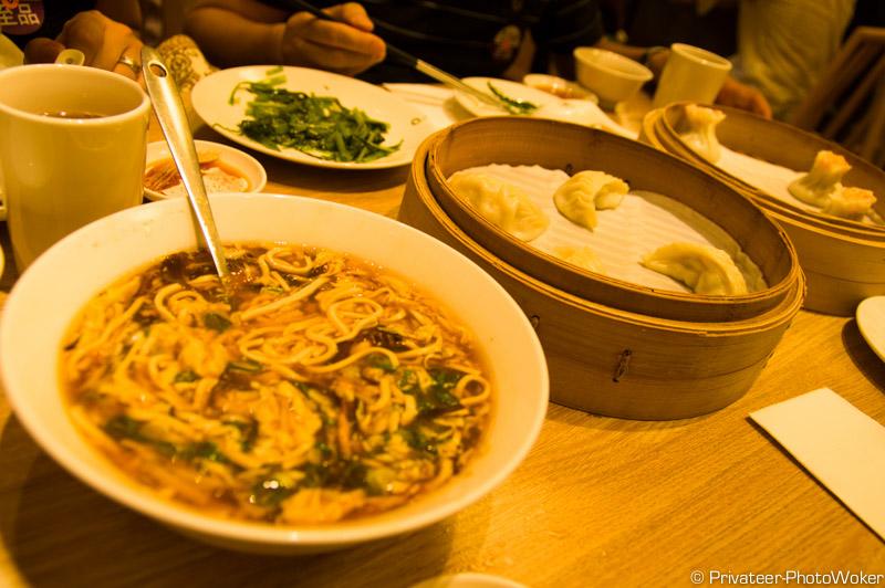 鼎泰豐(ティンタイフェン)で昼食