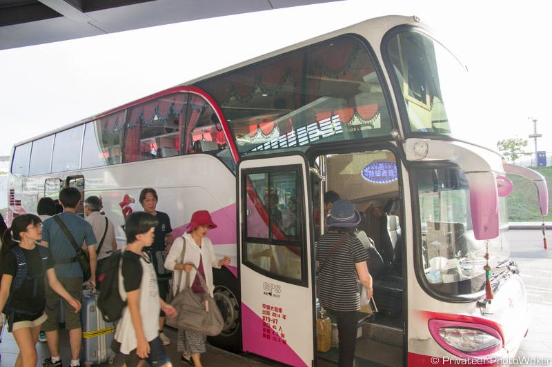 台湾観光バス