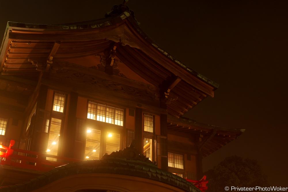 富士屋ホテル(夜)