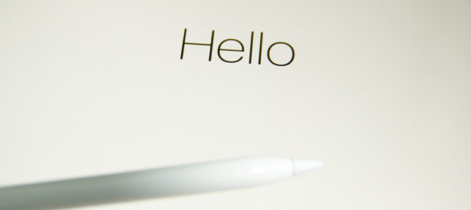 新型iPad Pro 10.5インチモデルデビュー!アップル初心者がアイパッドをイラストユースでフル活用して行きたい!