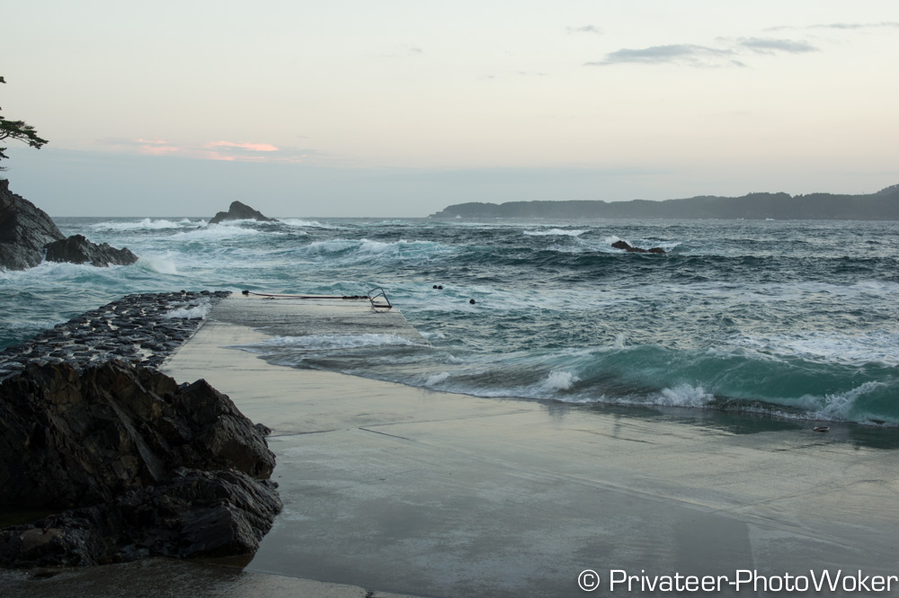 碁石海防波堤