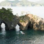 碁石海岸 穴通磯遊覧船