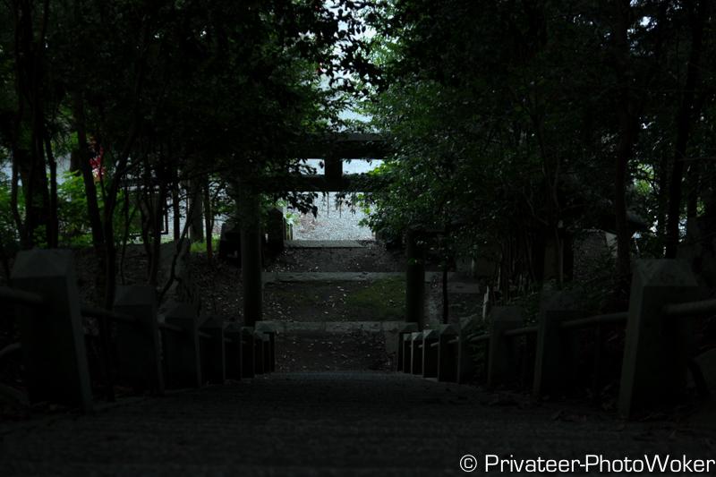 天神山公園入口