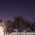 魚眼ズームDA10-17とK-3II内蔵アストロトレーサーで星空撮ってみた!in奥志賀高原