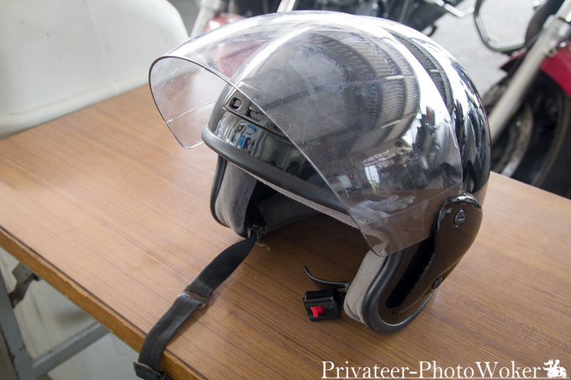那須カーアカデミー 大型二輪レンタルヘルメット