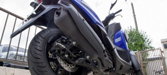 初めてのバイクトリシティ155納車時に聞いた取り扱いの注意点と大事に乗るためするべきこと