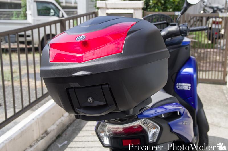 トリシティ155 ユーロヤマハ トップケース装備