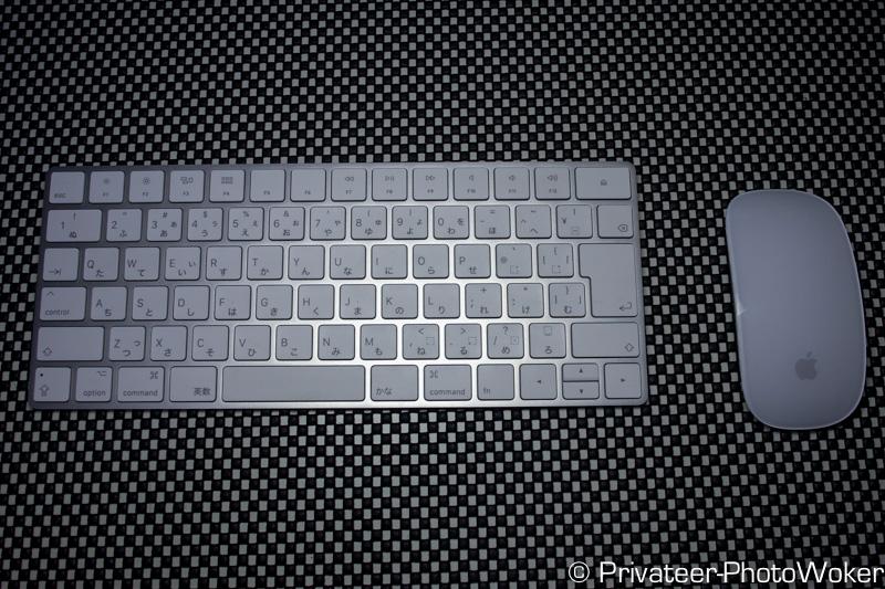 iMac付属のMagic Mouse(マジックマウス)とMagic Keyboard(マジックキーボード)