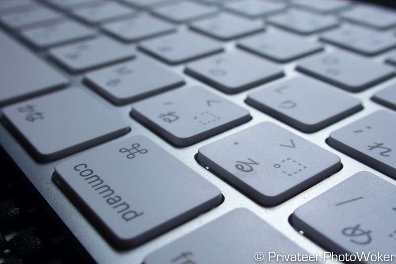 iMac付属のMagic Keyboard(マジックキーボード)