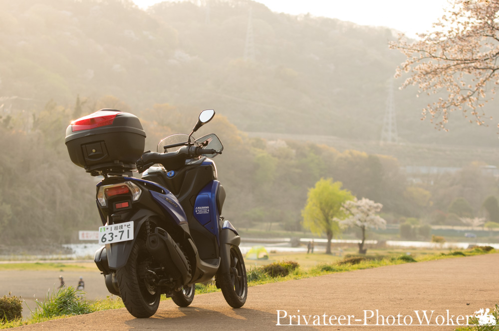 バイクで行くお気に入りの場所