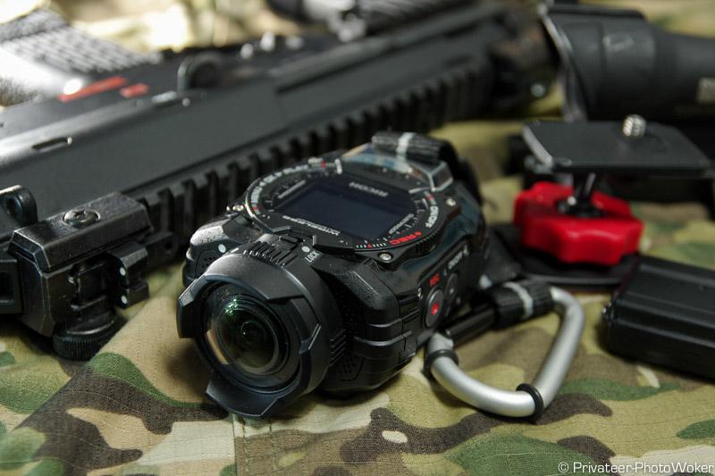 アクションカメラWG-M1用マウントアクセサリーを購入してFPS風サバゲーやスキー・スノボーを撮りたい!