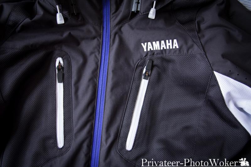 ヤマハ(YAMAHA) バイクジャケット RS TAICHI コラボモデル YAS44R エアーパーカー ブラック/ホワイト