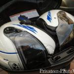 50L ユーロヤマハトップケース ヘルメット2個