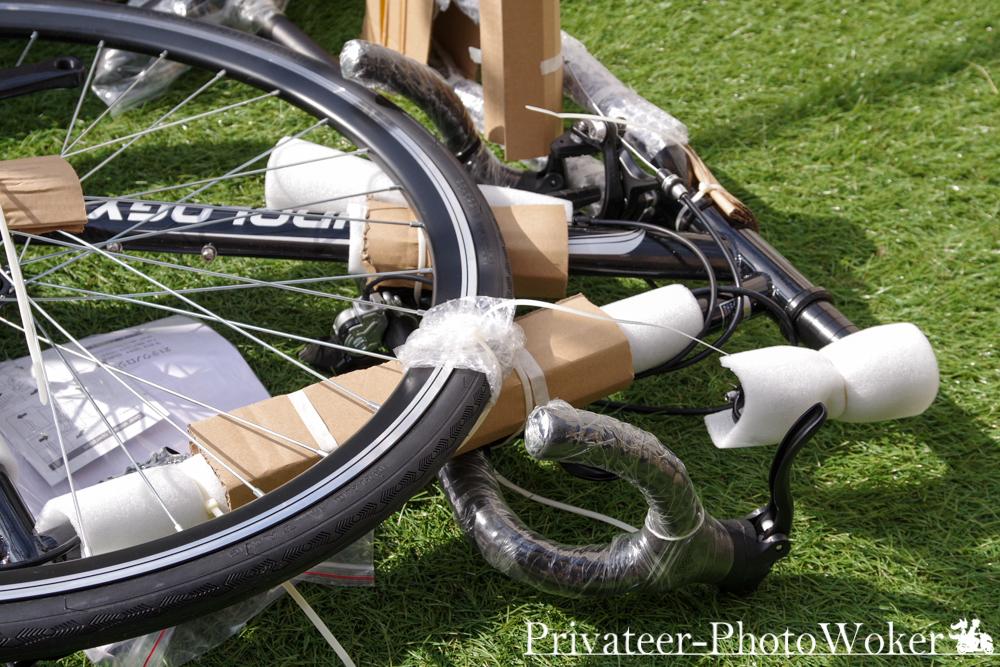 21テクノロジー 組み立て式ロードバイク