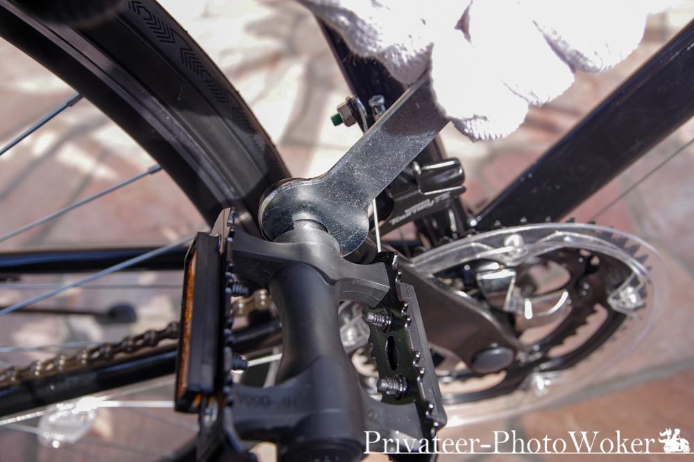 21テクノロジー 組み立て式ロードバイク ペダル