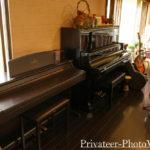 伊豆高原の宿 一本のえんぴつ ピアノ