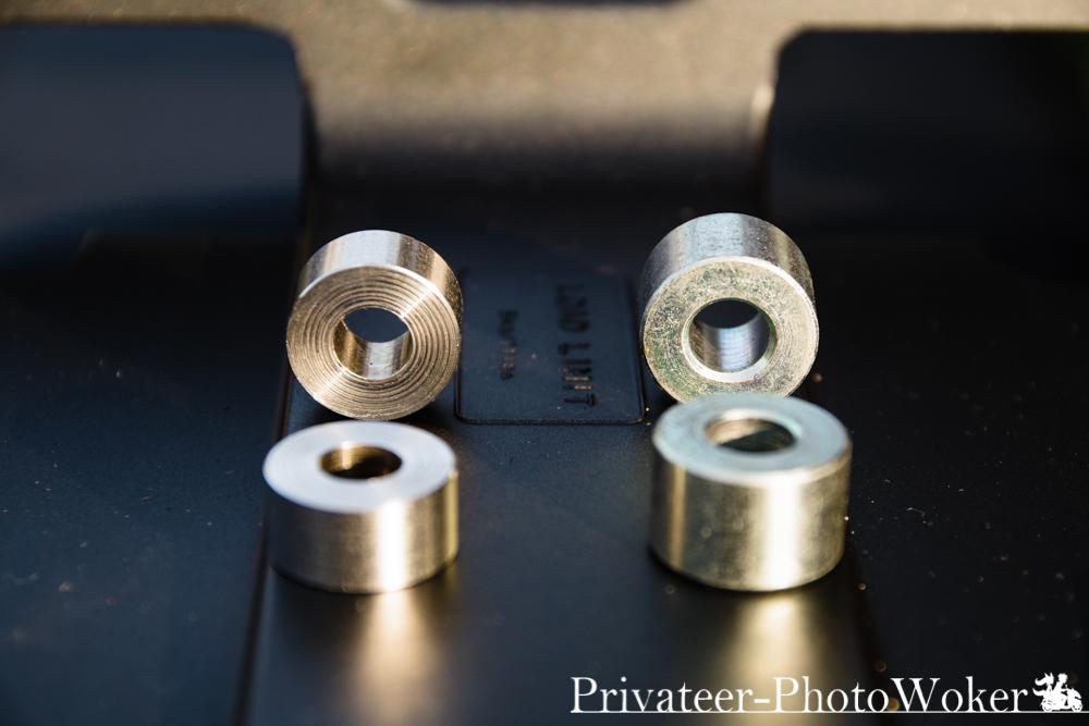 K26さん特製M8 9mmスペーサー