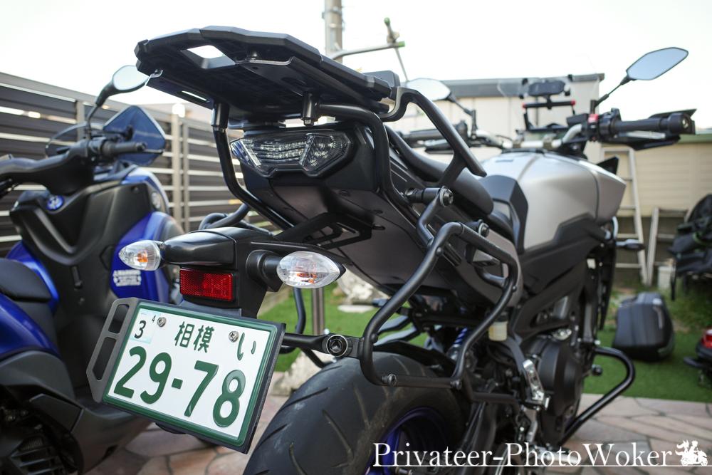 MT-09 TRACER PLXR2122+ヤマハリアキャリア装備