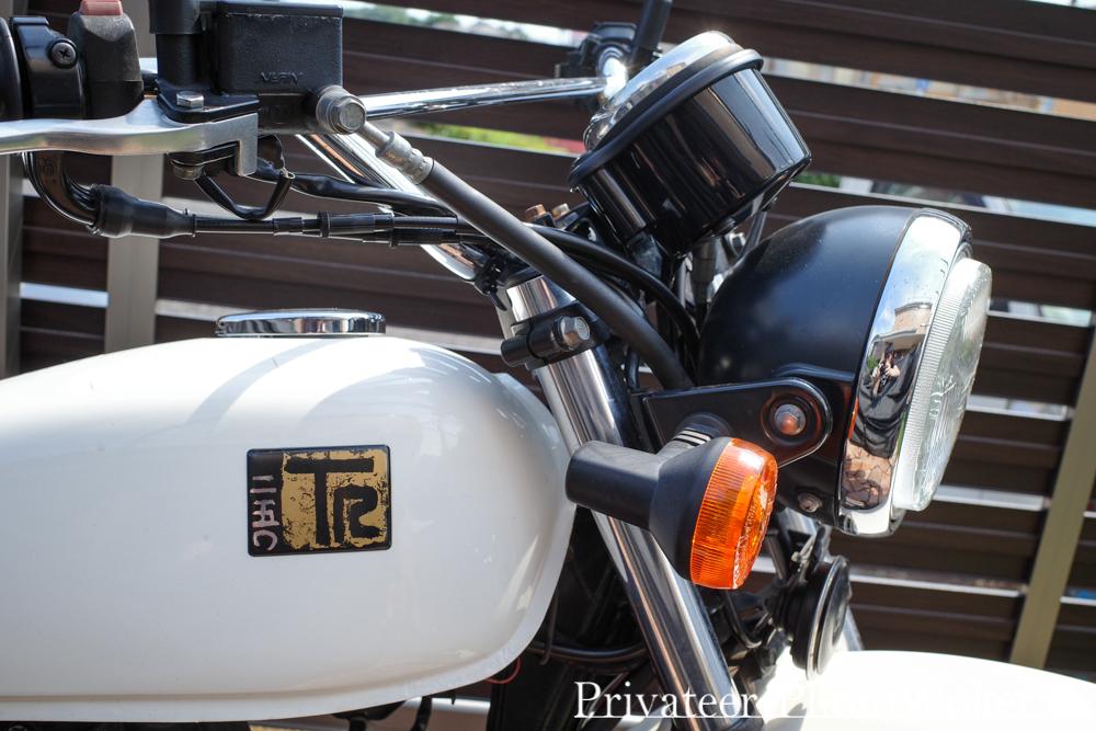 カワサキ TR250 2年目点検の代車