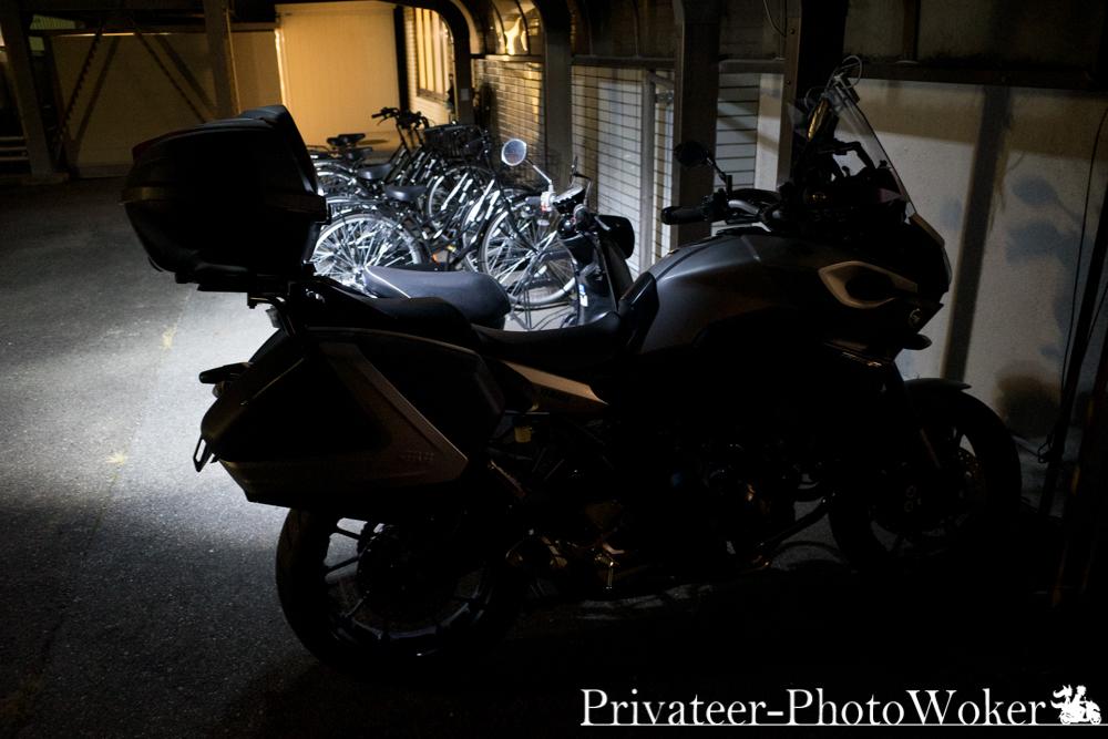 水口センチュリーホテル 自転車 バイク置き場