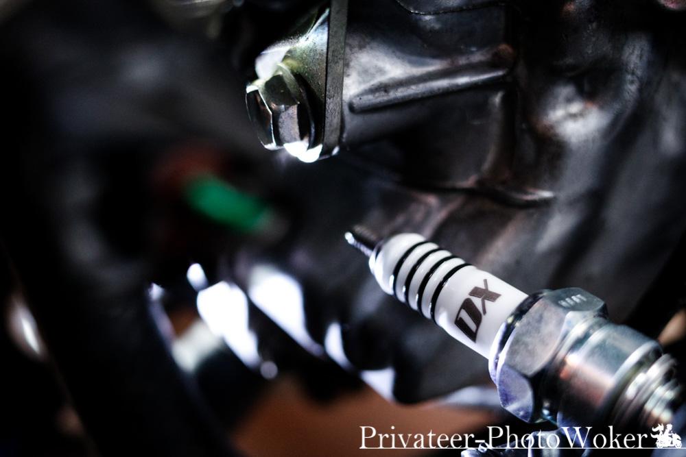 トリシティ155/125用 MotoDXスパークプラグ交換