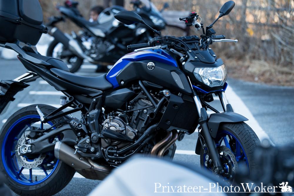 MT-07 ブルー 2018年モデル