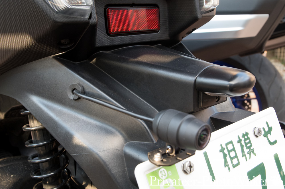 トリシティ155 EDR-21Gドライブレコーダー リアカメラ