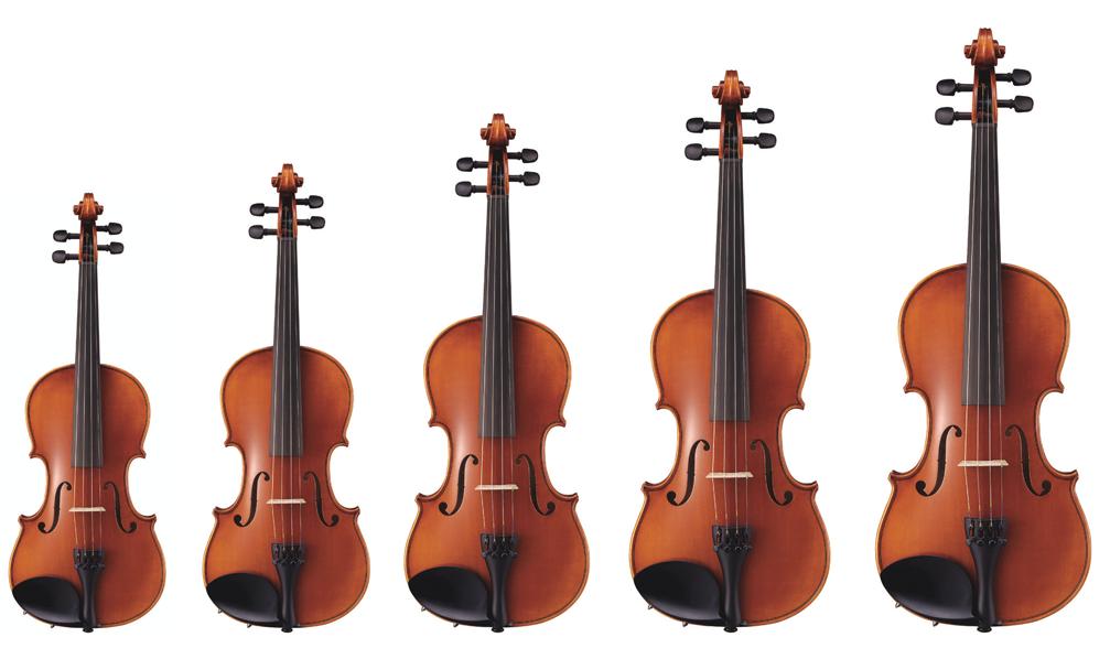 バイオリン サイズ