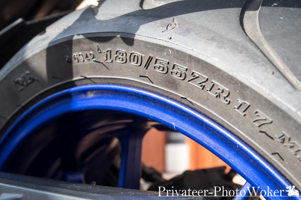 MT-09 TRACER リアタイヤサイズ