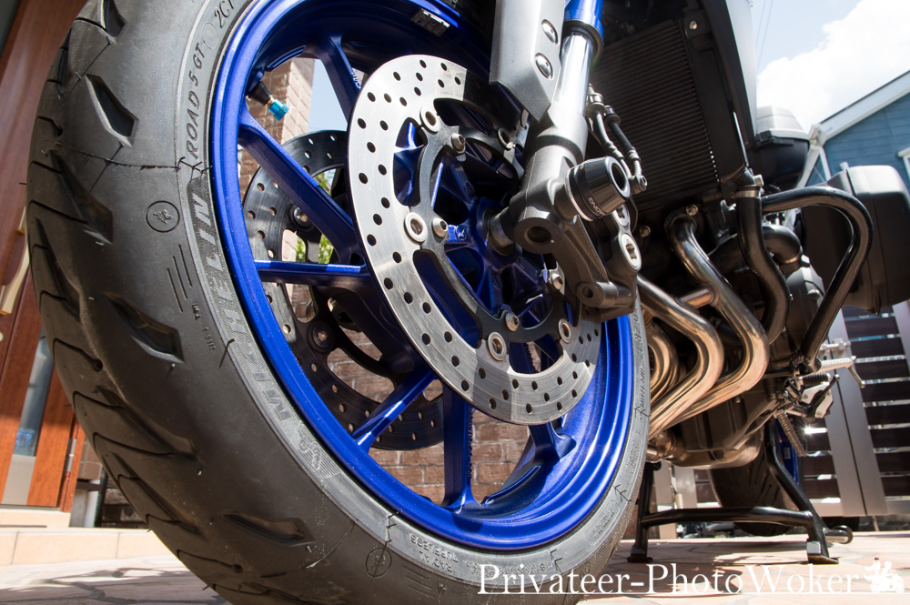 MT-09TRACER ROAD5GT 装備