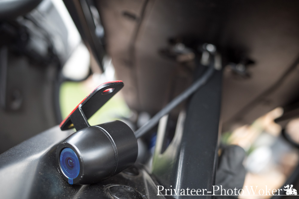DV988 リアカメラ配線 MT-09TRACER